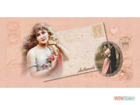 PER PUBBLICARE cartolina rosa